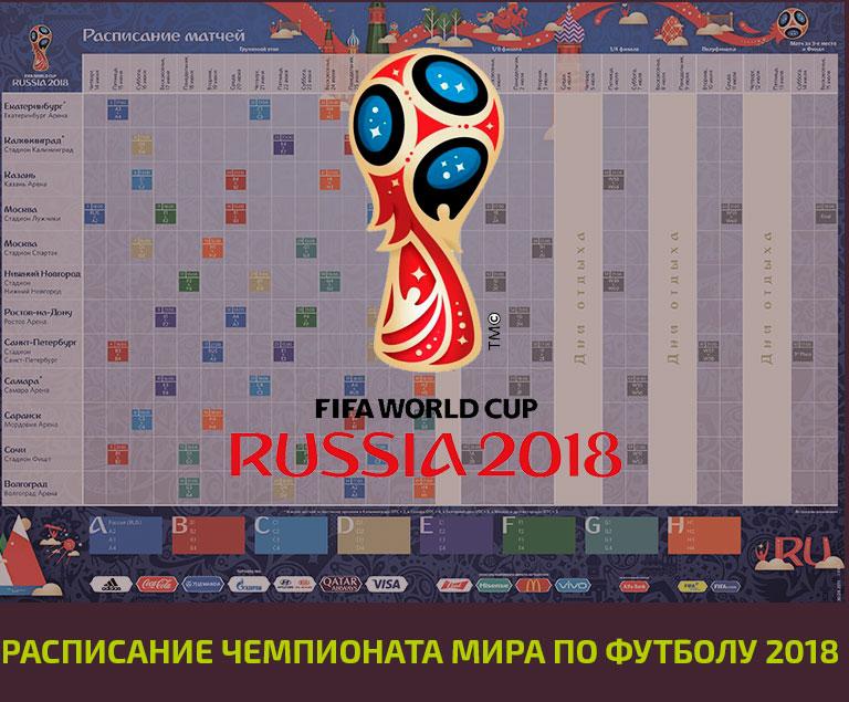 подборка чм по футболу 2018 расписание матчей данного зарядного устройства
